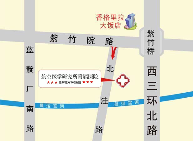 北京466来院路线
